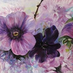Saatchi Online Artist: Stephanie Köhl; Acrylic, 2011, Painting Bleu de printemps