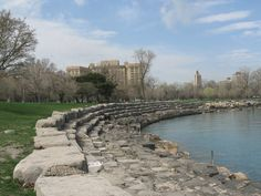 Promontory Point at Burnham Harbor, Chicago
