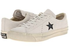 Converse by John Varvatos One Star Burnished Suede Turtledove/Black - Zappos.com Free Shipping BOTH Ways