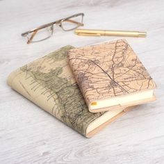 personalised map diary
