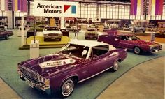 AMC at the 1972 Chicago Auto Show
