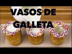 VASOS DE GALLETA. EXPECTATIVA/REALIDAD