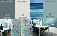 Blue interior | interieurblog | Pure & Original