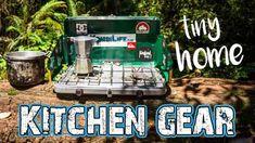 Van life kitchen items