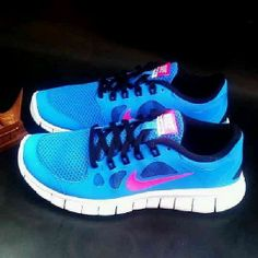 New runners for nursing next year. Yes I matched with my scrubs! #nursing #scrubs #nike