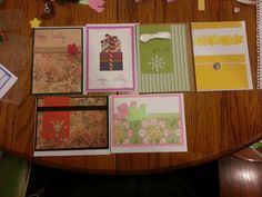 cards for gift set