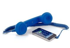 Native Union Retro Handset, Royal Soft Touch