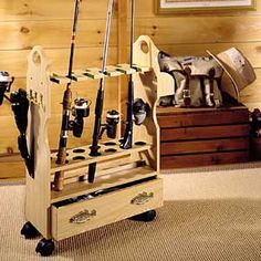 Organized fishing gear.... NICE!