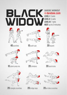Black Widow Workout (Friday L1)