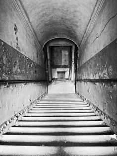 """""""Halls with silent spaces"""" by Romina Margherita A Diaz; subject is an ex-sanitarium in Tuscany, Italy. Abandoned Asylums, Abandoned Buildings, Abandoned Places, Urban Decay Photography, Space Photography, Fashion Photography, Spooky Places, Haunted Places, Working In Mental Health"""