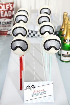 Vintage Racing Car - Themed Event Styling, Party Event Styling, Kids Birthday Dessert Tables | KMK