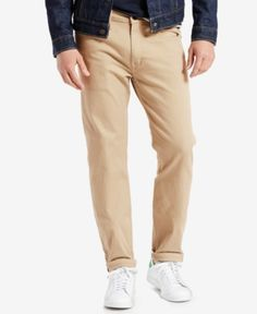 c997392d79a937 Levi's 502 Regular Tapered Fit Jeans - Tan/Beige 33x32 Tan Jeans, Levis  Jeans