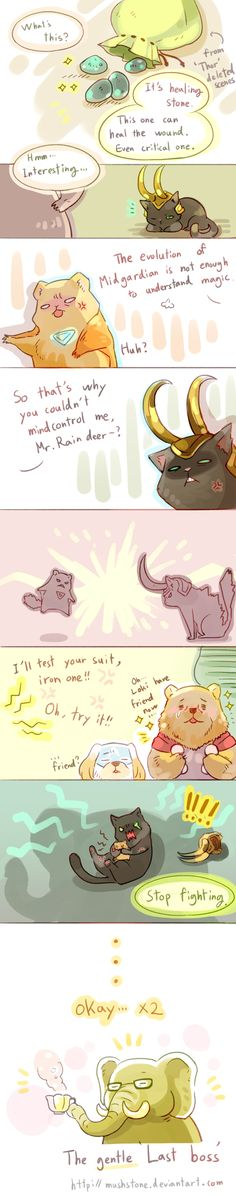 Animal Avengers 9 by ~Mushstone on deviantART