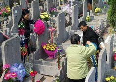 Qingming Festival: Qingming is a festival of remembrance. Chinese people sweep the tombs of their ancestors in a yearly mark of respect. This is why Qingming is also known as the Tomb-Sweeping Day. After slightly sweeping the tombs, people offer food, flowers and favorites of the dead, then bow before the memorial tablet. Qingming was frequently mentioned in ancient Chinese works, the most famous one is the poem by Du Mu.