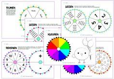 Fidget Spinner Werkbladen onderbouw » Juf Leontine