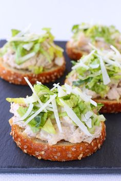 Making Chicken Caesar Bruschetta for your next party is a no brainer. Not only is it a flavor everyone loves, it's super easy to make and feeds a crowd.