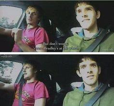 Colin's face... Priceless lol
