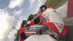 On Board Vallelunga Ago Santoro 1'41''9 su Kawasaki ZX-6R, Team Delta Ra...