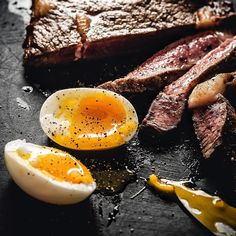 Its been a busy January for sure and had the pleasure of having my mom and aunt visiting me for a few weeks. They flew back today after a nerve wrecking bag check-in at LAX.Back to cooking now! Sunday evening steak and eggs! 6 minute eggs and a pan seared sirloin steak rare and bloody. I tried a little trick boiling eggs this evening. I added about a Tbsp of vinegar to the water. Ive tried it in the past too so far.. those egg shells come off really easily. Im almost convinced its a…