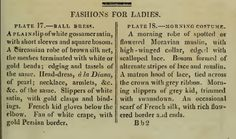 """""""Fashions for Ladies."""" March 1810."""