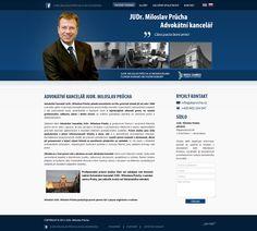 Webové stránky JuDr. Průchy #webdesign