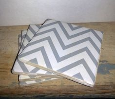 Hey, I found this really awesome Etsy listing at https://www.etsy.com/listing/218035740/recycled-ceramic-tile-coasters-chevron