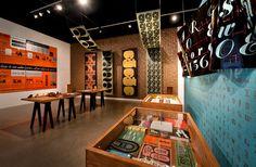 Photo-Lettering Chapman University Guggenheim Gallery
