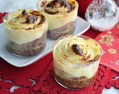 bicchieri lenticchie cotechino e patate