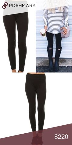 ❣️COMING SOON ❣️Your Favorite Black Leggings These leggings are so soft, like peach skin, featuring a wide elastic band. Black leggings are a staple for everyone's closet! One size fits most 92% polyester 8% spandex Price is firm unless bundled. No trading. Pants Leggings