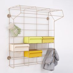 wire rack shelving - great for store kids craft bits and pieces Wire Rack Shelving, Storage Shelves, Wire Storage, Office Storage, Furniture Making, Garden Furniture, Home Furniture, Bathroom Interior Design, Bathroom Designs