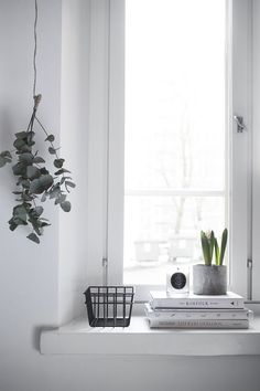 Pihkala: IKKUNALAUDALLA | Window decor | home decor details                                                                                                                                                     More