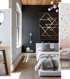 Simple and Modern Tips and Tricks: Natural Home Decor Earth Tones Rustic natural home decor living room woods.Natural Home Decor Bedroom Plants natural home decor living room texture.Natural Home Decor Feng Shui. Modern Master Bedroom, Master Bedroom Design, Minimalist Bedroom, Minimalist Home, Home Decor Bedroom, Master Bedrooms, Bedroom Ideas, Bedroom Designs, White Bedrooms