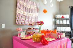 Girl's Elmo party