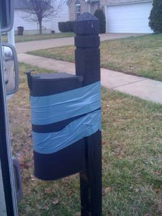 The duct tape fix