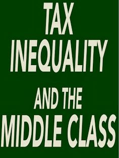 Tax Inequity and the Middle Class -- Top Issue for 2012 Capital Gains Tax, Tax Rate, The Middle, Roosevelt, Rage, Wealth, Wordpress, Let It Be, Future