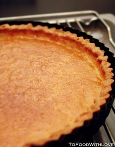 I decided to call this Pure Lemon Tart simply because unlike classic lemon tarts made with cream, this one doesn't use cream in the lemon f. Lemon Tarts, Pie, Pure Products, Cream, Desserts, Recipes, Food, Torte, Creme Caramel