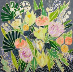 Lulie Wallace  Image of 48x48 Flowers for Fiona