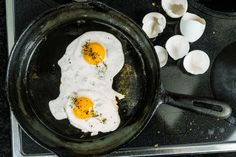 Learn how to re season a cast iron skillet to use it for everything from eggs to pancake