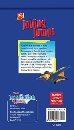 No Way! Jolting Jumps (TIME Middle School Nonfiction Books) (Time for Kids Nonfiction Readers)