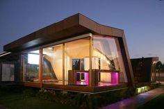 Timer prefabricated house
