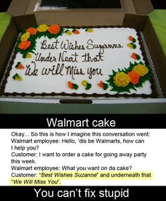 """This is the funniest thing I've seen in quite a while. And """"underneath"""" is spelled wrong. Priceless :)"""