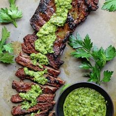 Skirt Steak Marinade Recipe with Chimichurri is so yumm! You must see the complete recipes. Just Clik the Link to load more complete recipes and video instruction Skirt Steak Recipes, Steak Marinade Recipes, Grilling Recipes, Cooking Recipes, Healthy Recipes, Skirt Steak In Crockpot, Cooking Ribs, Easy Cooking, Keto Recipes