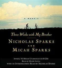 I have head all of his books but kept skipping over this one....it is my favorite Nicholas Sparks book!