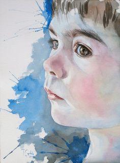 Original Watercolour Portraits