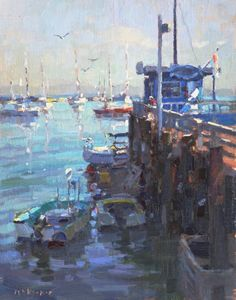 Jim McVicker     14x11 Monterey Pie
