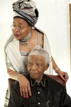 Former President of South-Africa Nelson Mandela with his wife, Mozambican politician Graca Machel, at a photoshoot for his birthday at the InterContinental hotel, London, July Nelson Mandela, African Life, African American History, African Beauty, African Fashion, Zulu, Terry O Neill, Photo Souvenir, Black Celebrities