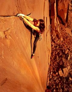 climbing and strong