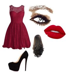 """""""Untitled #21"""" by maria-paula-paez on Polyvore featuring Lime Crime"""