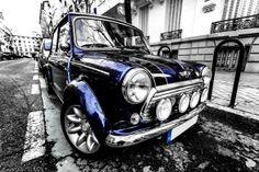 Mini Cooper by Óscar Mini Cooper Classic, Mini Cooper S, Classic Mini, Classic Cars, My Dream Car, Dream Cars, Cool Trucks, Cool Cars, Morris Minor