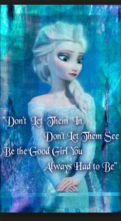 Elsa frozen quote